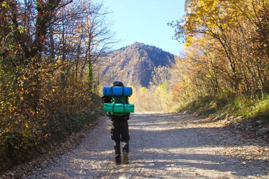 Backpackerrucksack Weltreise