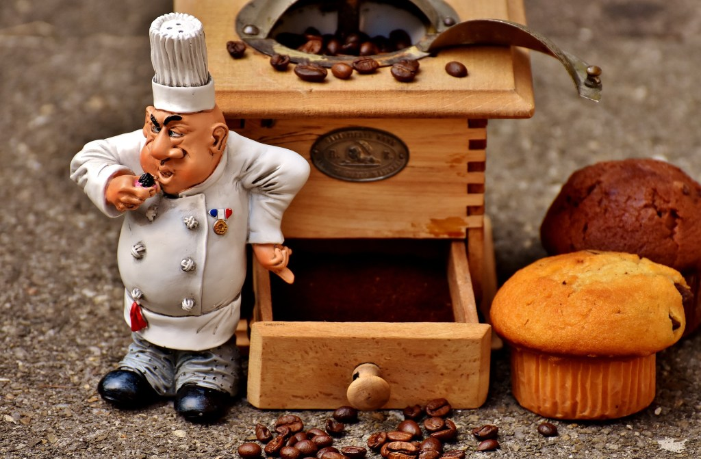 Kaffeemühle manuell betreiben