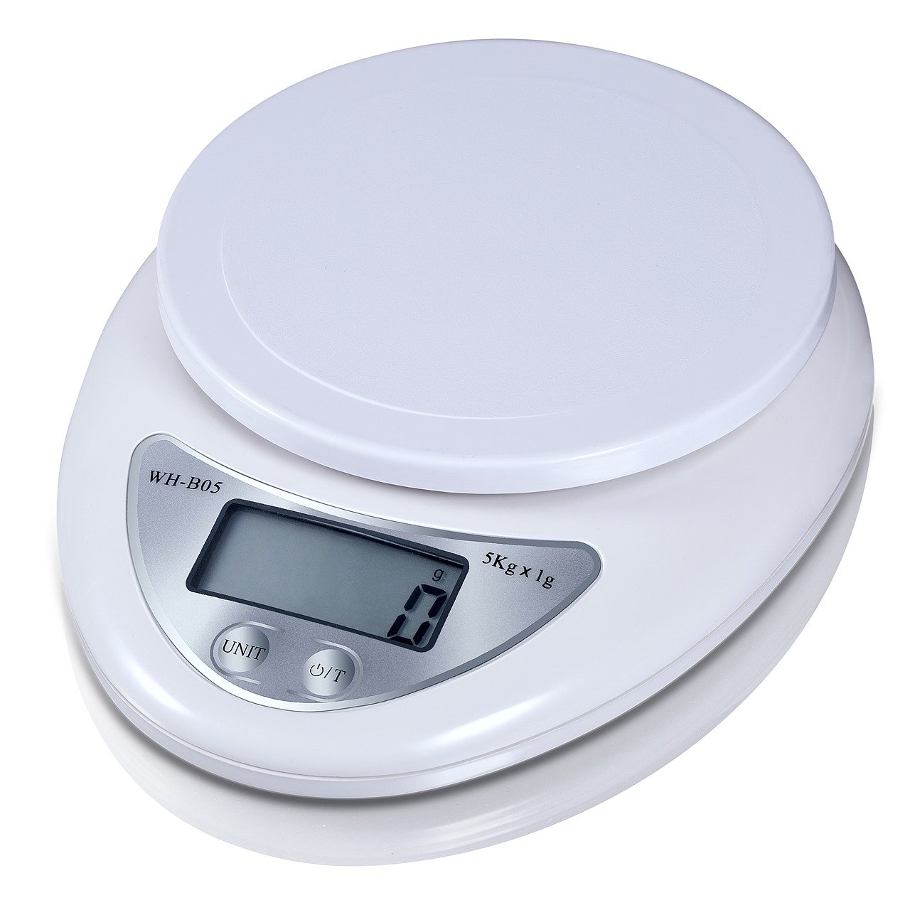 Die Genauigkeit und das Maximalgewicht einer Küchenwaage, findest du in der Bedienungsanleitung oder direkt auf der Waage.