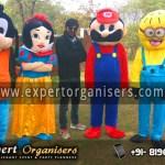 Goofy, Snow White, Super Mario, Minion Cartoon Costume on Rent