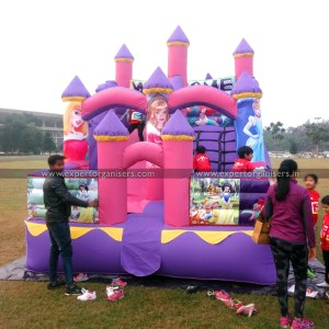 Kids Castle Bouncy on Rent in Chandigarh, Mohali, Panchkula, Zirakpur,