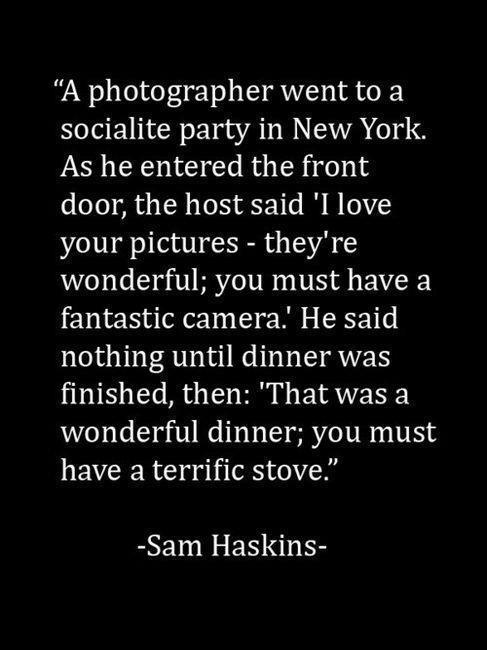 10 Things No Photographer Wants To Hear (2/2)