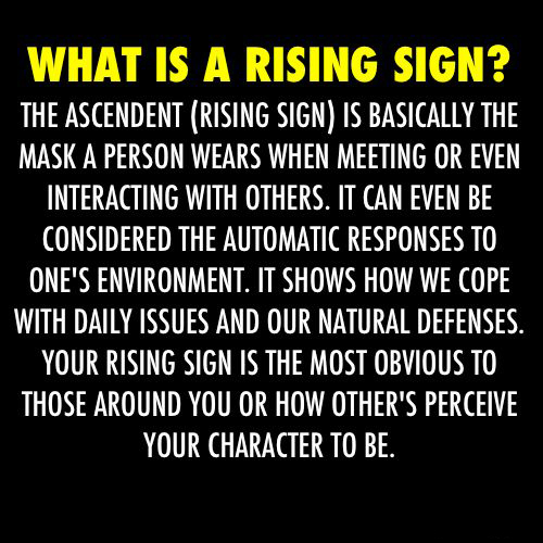 Who Is The Rising Sign