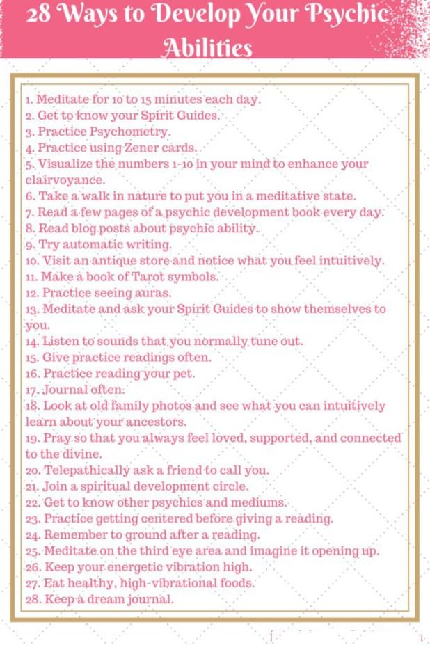 Ways To Improve Your Psychic Properties