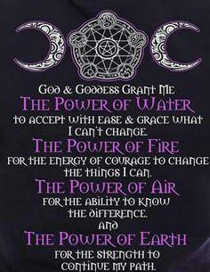 4 Elements; 4 Powers