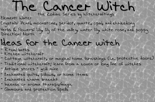 What's a Cancer Witch