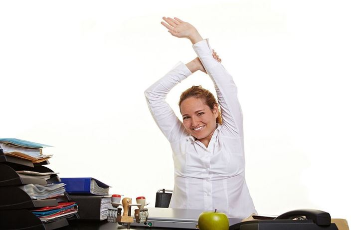 10 Easy exercises to do at your desk