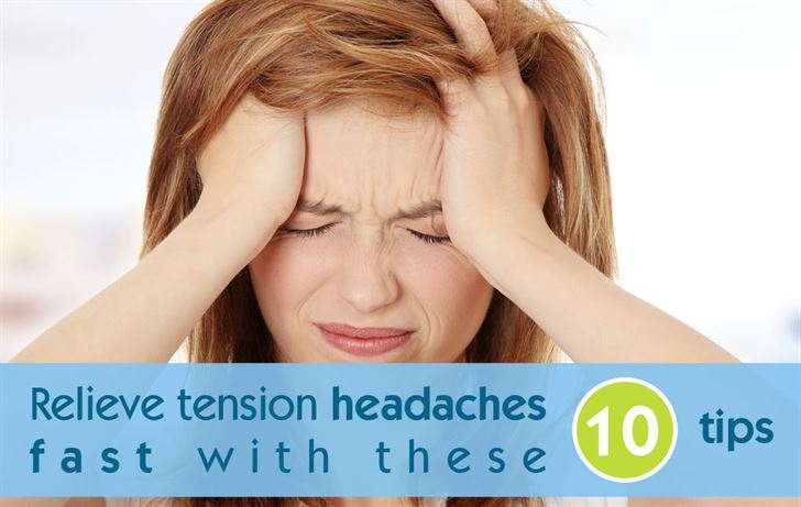 Image result for how to get rid of a tension headache fast
