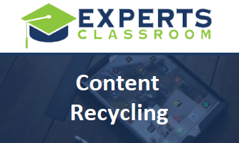 """""""Discover How to Get Free Traffic And Easy Sales Without Working More Hours Using Our Proven 'Content Recycling' Method!"""""""