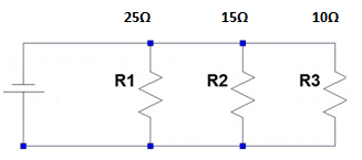 Calculate the combined resistance of resistors