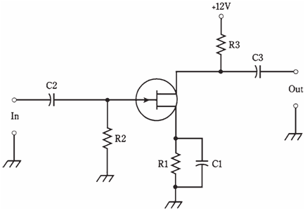 Common-Source Circuit, field-effect transistor, Assignment