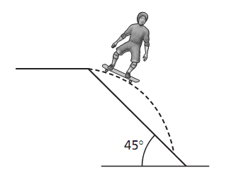 Determine the length of the ramp, Physics