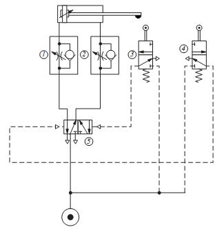 Pneumatic circuit diagram, Electrical Engineering