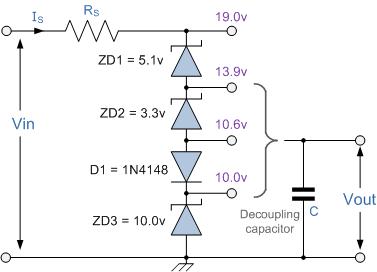 Zener Diode Voltages, Assignment Help, Zener Diodes