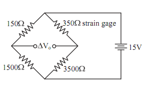The maximum power applied to the strain gage, Physics