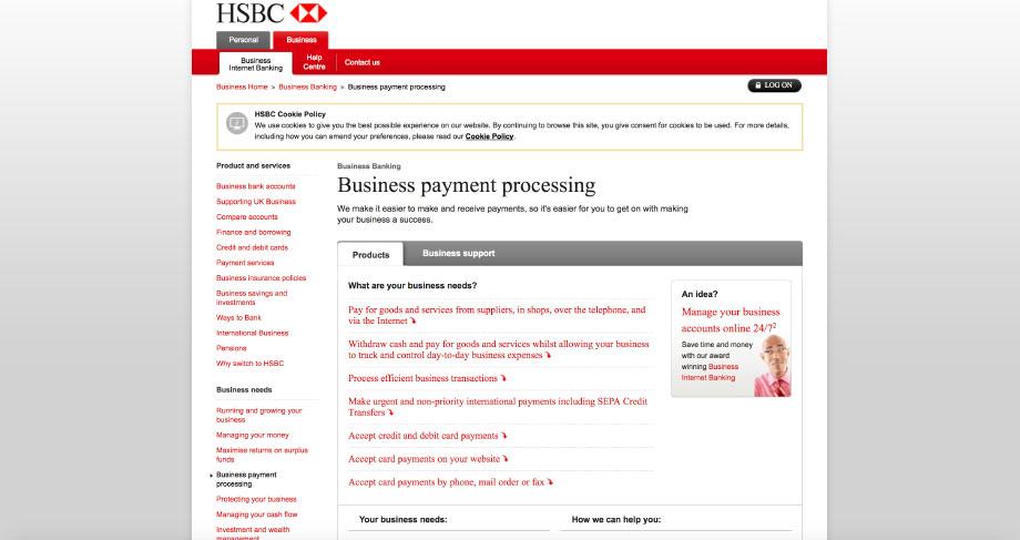 Open A Business Bank Account Online Hsbc - FinanceViewer