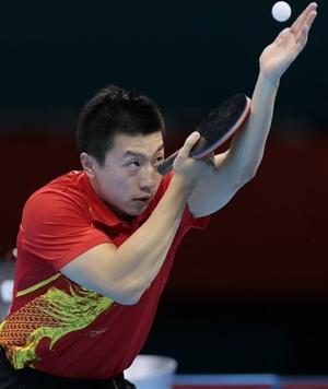 Ma Long Table Tennis Serve