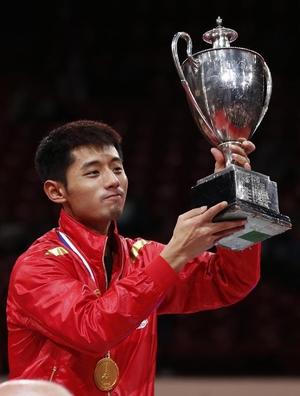 Zhang Jike Champion