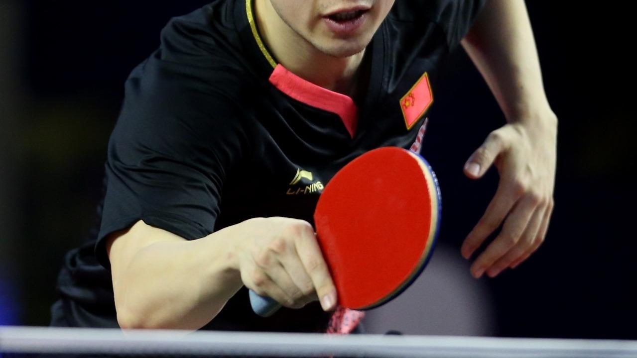 table tennis grip - shakehand