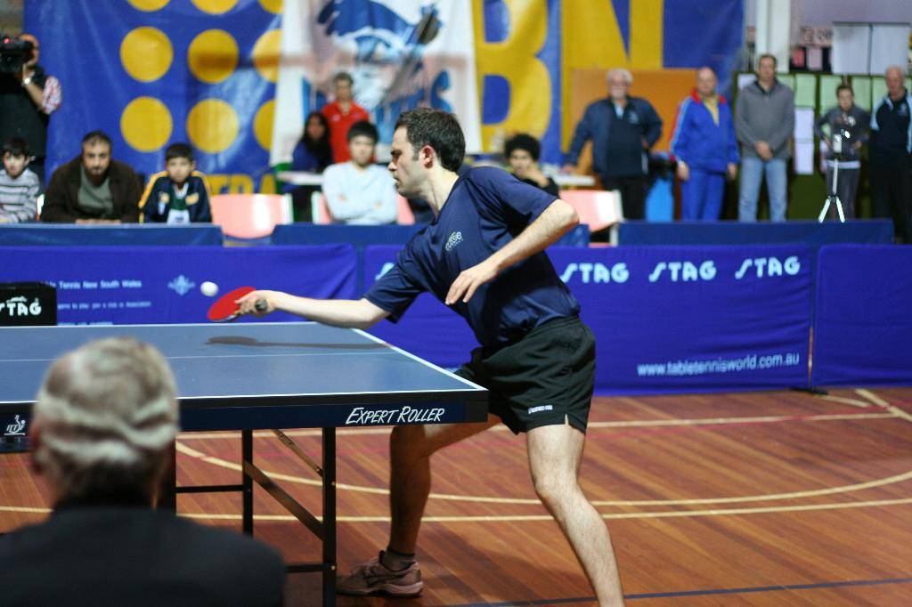 forehand push table tennis coaching