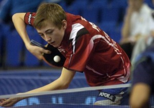 table tennis serve