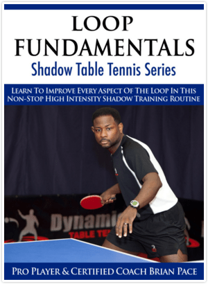 Dynamic Table Tennis Loop Fundamentals Shadow Training Series