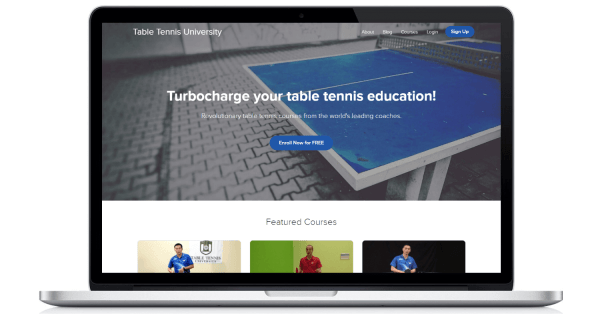 Table Tennis University Preview