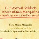 miniatura cartel del ii festival becas coral margarita