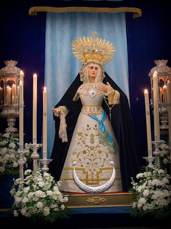 María Stma. de la Salud en su Soledad
