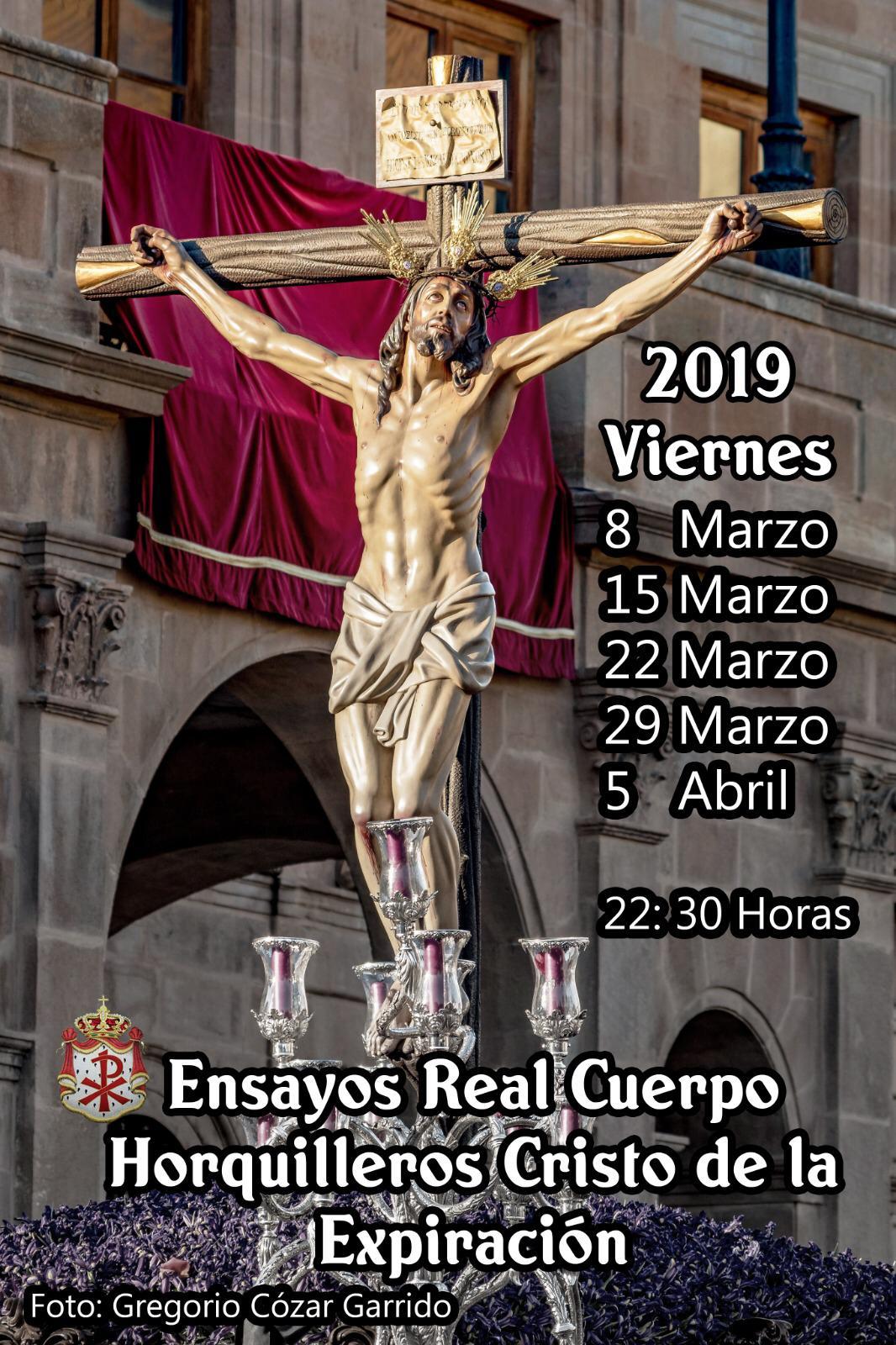 Ensayos Cristo 2019