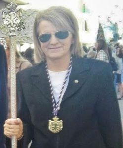 La pregonera 2020, María Jesús Latorre Moreno.