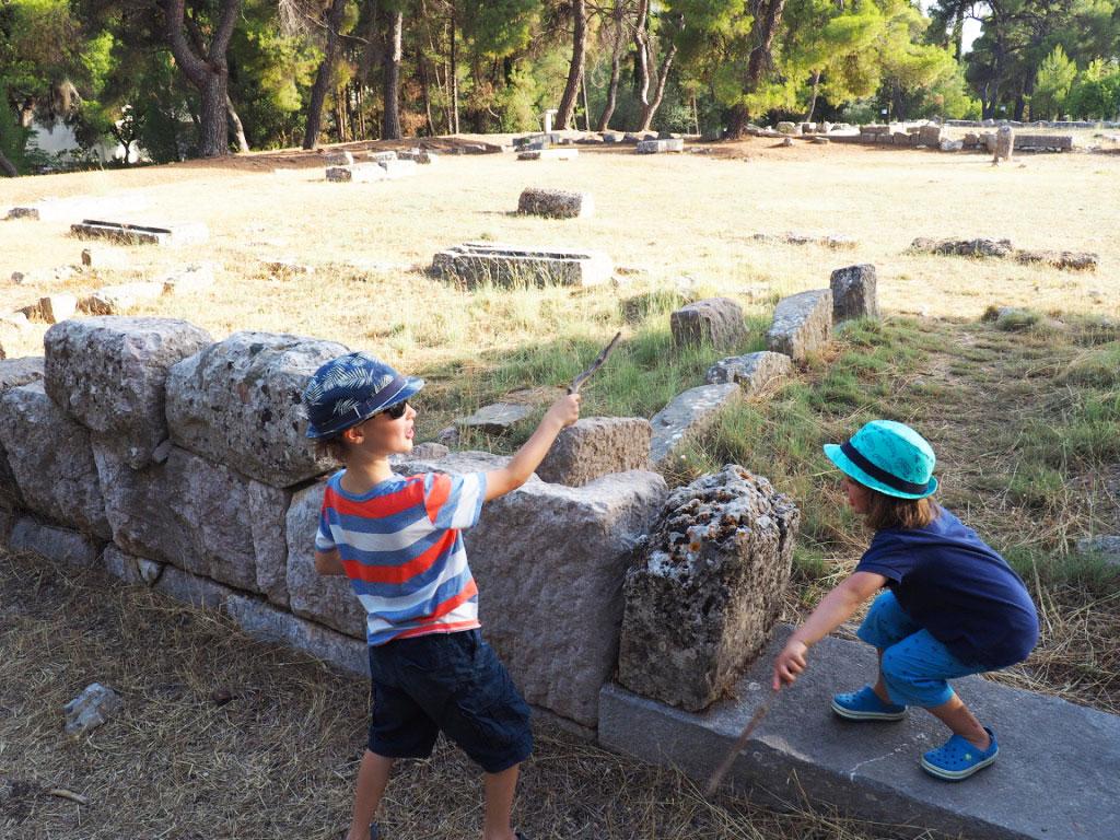 Epidaurus ruins