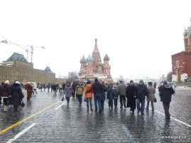 First thought: omg I'm in Russia. Second thought: why does St Basil's look exactly like the Church of Spilled Blood?