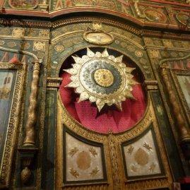 Art inside St Basil's.