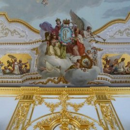Back in Catherine's Palace, Pushkin.