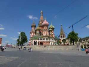 St Basil's. Because I didn't take enough photos last time, right?!