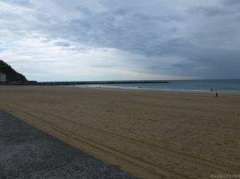 The beach at San Sebastian