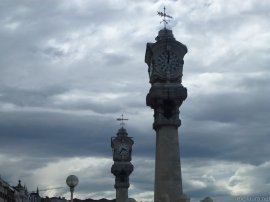 Along the foreshore in San Sebastian