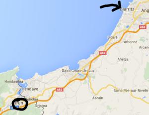 biarritz irun