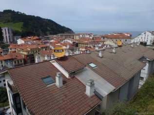The roofs of Deba.