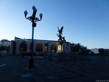 Leaving Santander
