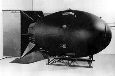 A bomba atómica lançada sobre Nagasaki
