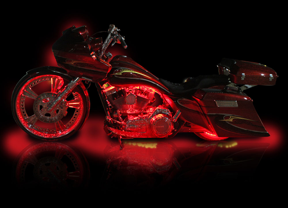 Motorcycle LED Lighting Installation in Melbourne  Palm