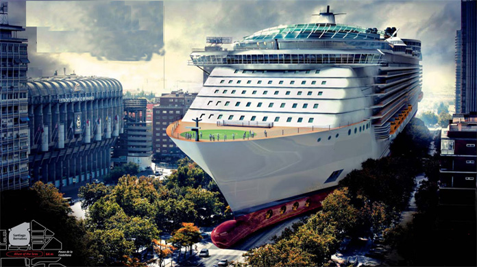 The Worlds Largest  most Luxury Cruise Ship