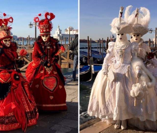 In Pictures Venice Carnival 2018