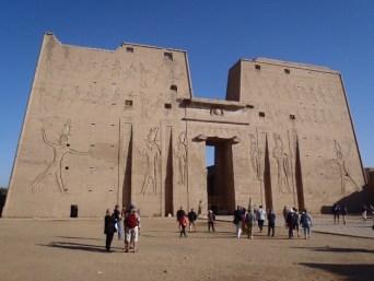Temple d'horus à Edfou1