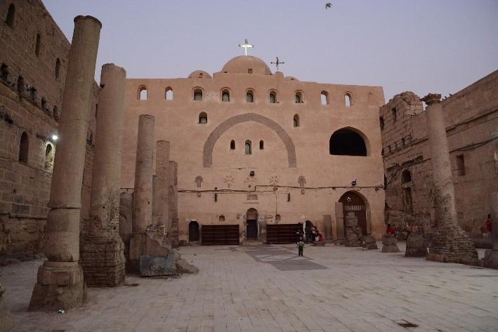 monastère blanc de sohag