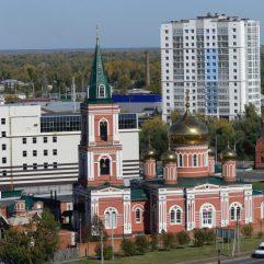 église Znamenskaya à Barnaoul, Russie
