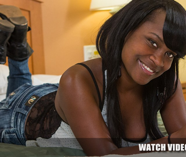 Young 18yr Old Black Teen Amateur In Her 1st Ebony Porn Video