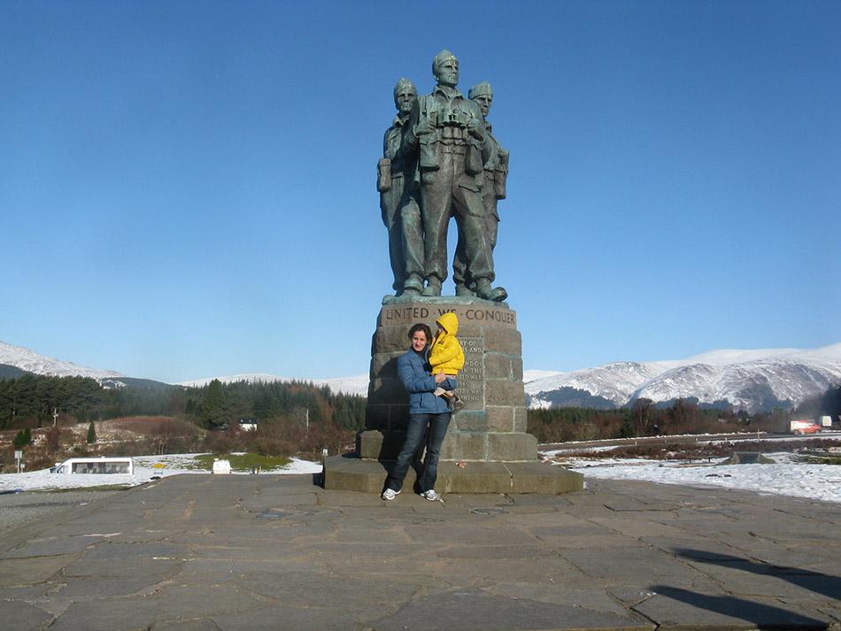 Visita a Escocia en Carnaval